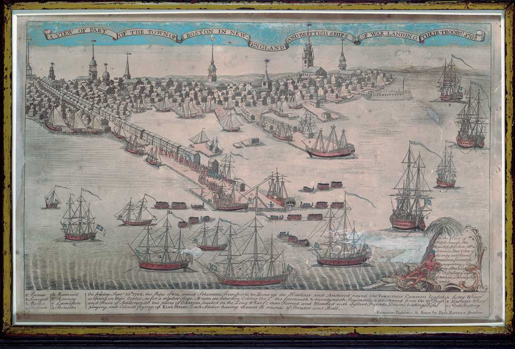 A View of Part of the Town of Boston