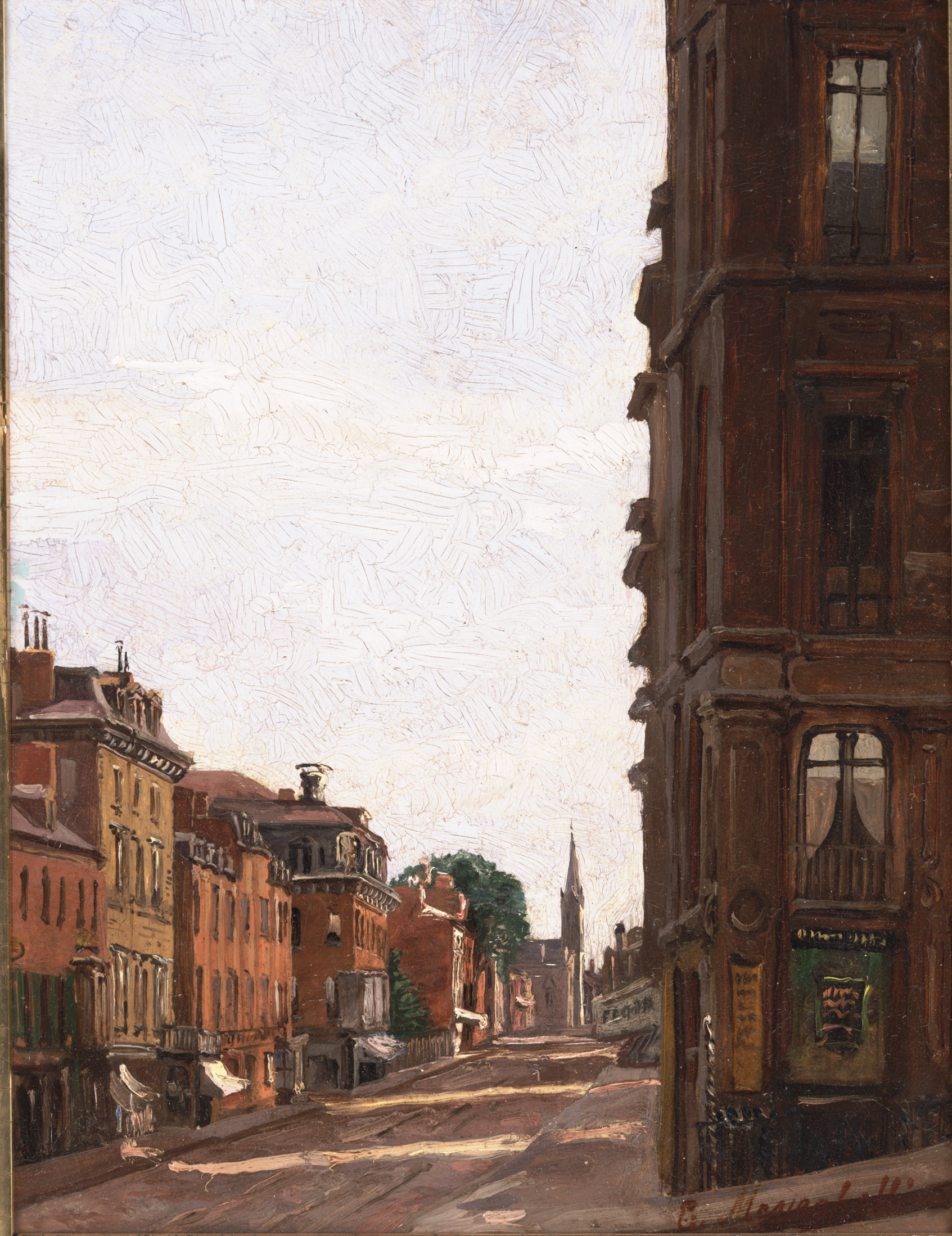 Streetscape To The North Of Hickory Click To Close: Boston Athenæum