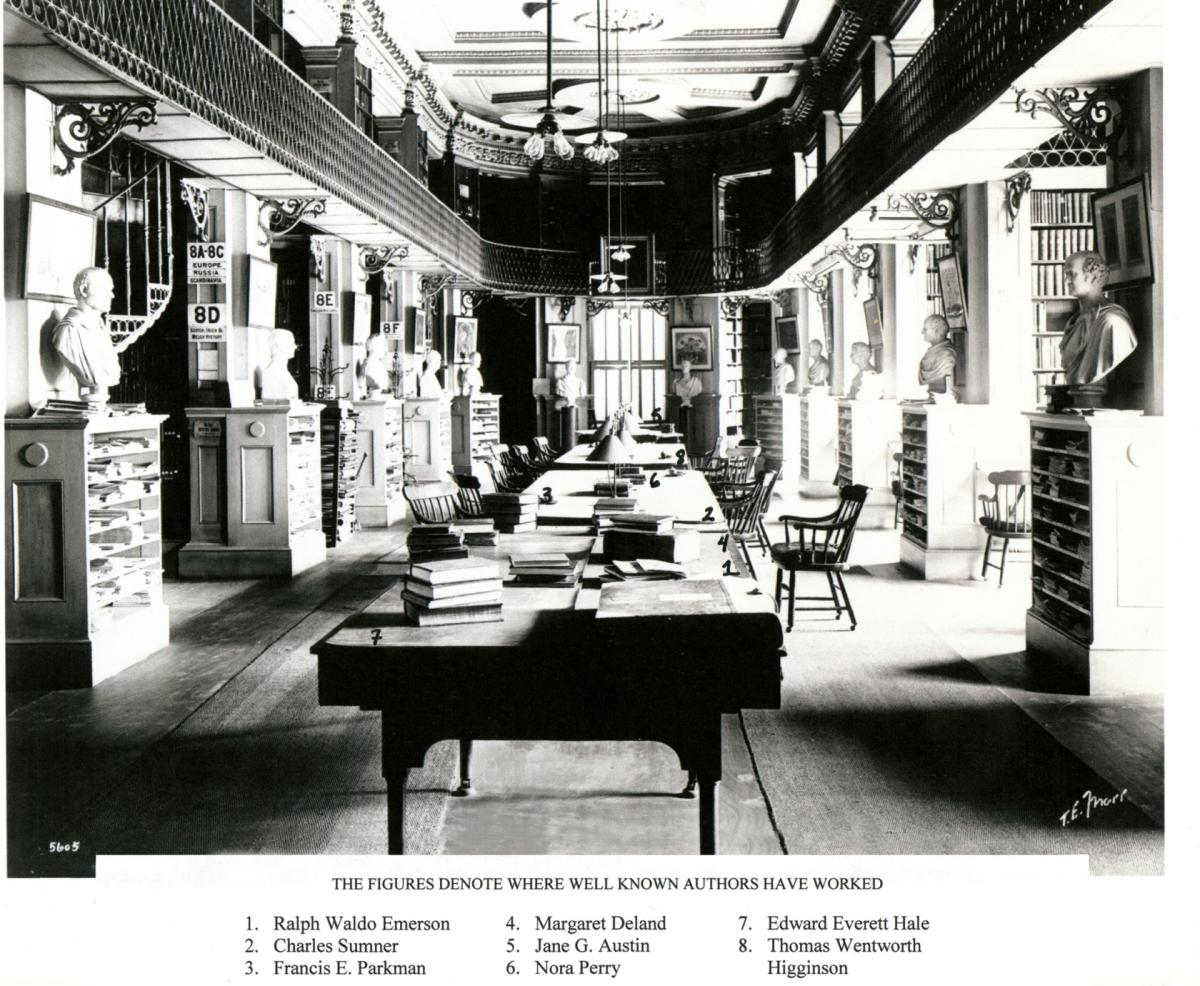 Second Floor. Authors on Second Floor, Sunday Herald, August 17, 1902