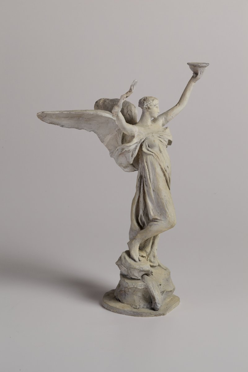 Daniel Chester French, The Spirit of Life, Maquette (Trask Memorial), 1913, plaster, 13 5/8 x 9 3/8 x 10 inches. Chesterwood, a National Trust Site, Stockbridge, Massachusetts, Gift of Daniel Chester French Foundation. Photograph by Paul Rocheleau, courtesy Chesterwood..