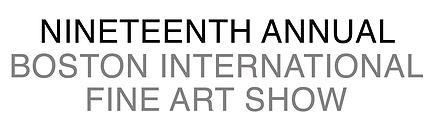 18th Boston International Fine Art Show Logo