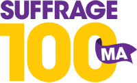 Coalition partner of Suffrage 100 MA,  celebrating the Nineteenth Amendment's centennial.