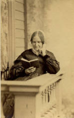 John Adams Whipple (1822-1891). Lydia Maria Child, 1865. Carte de visite photograph. Boston Athenæum.