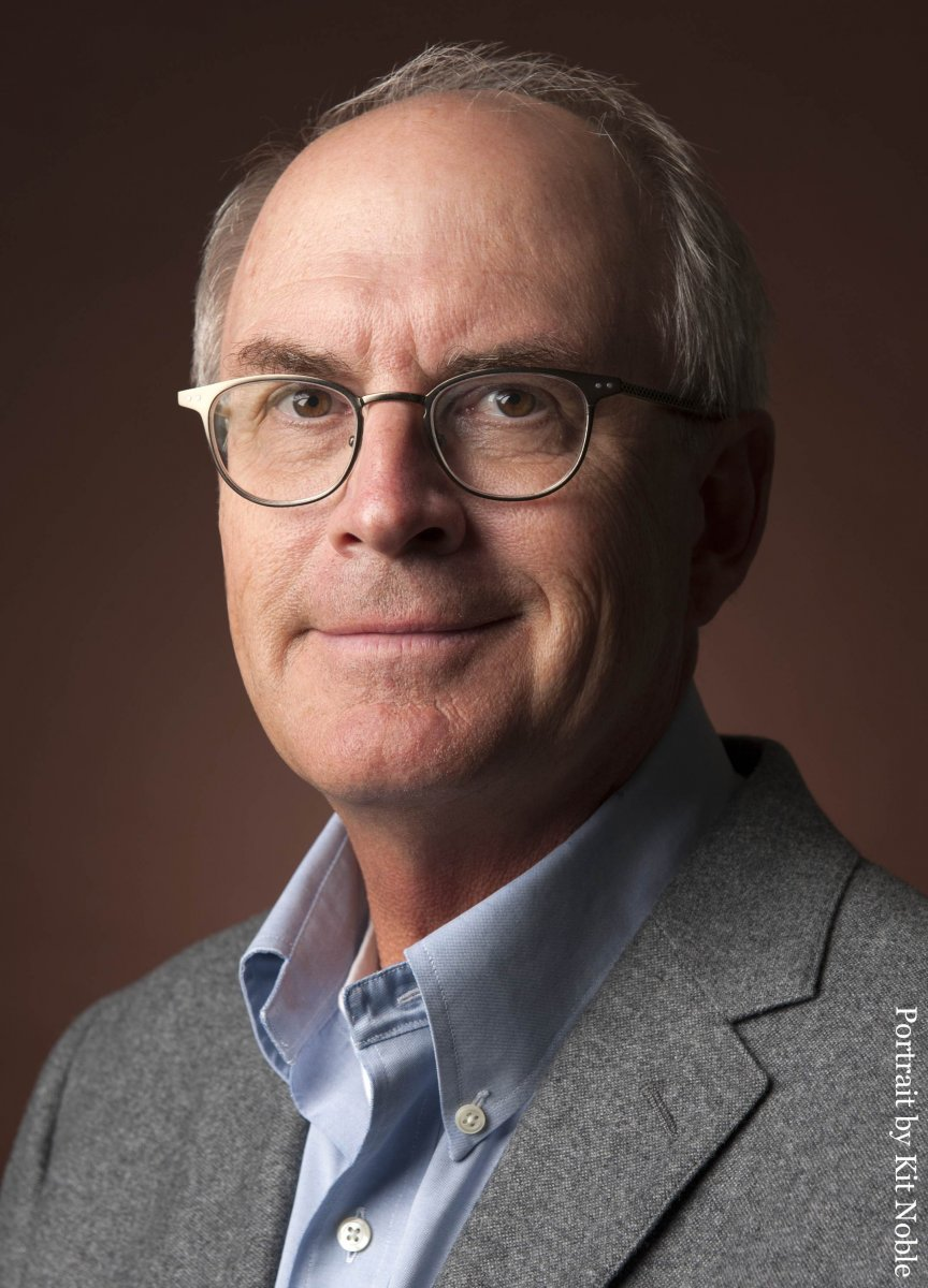 Nathaniel Philbrick, portrait by Kit Noble