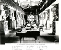 Historic shot of the second floor.