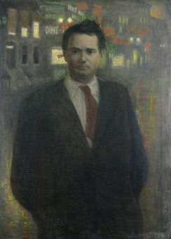 Gorsline, Douglas W., Portrait of Thomas Wolfe. 1946. © North Carolina Collection in Wilson Library at the University of North Carolina at Chapel Hill.