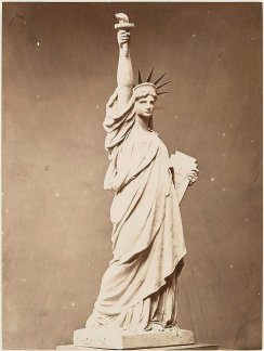 Fernique, Albert, Model of the Statue of Liberty from Album de la construction de la Statue de la Liberté, 1883. The New York Public Library.