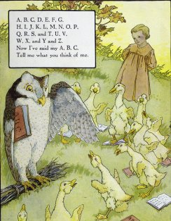 Grover, Eulalie Osgood (ed.), Mother Goose (Chicago: P. F. Volland & co., c. 1915). Gift of Mrs. Charles D. Gowing, 1990