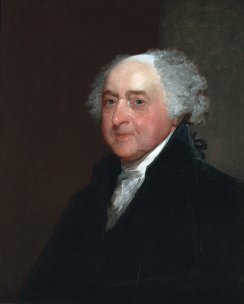 Gilbert Stuart (1755-1828), John Adams, ca. 1815. Oil on panel, 26 1/16 x 20 13/16 in. (66.2 x 52.8 cm). Gift of the estate of William Smith Shaw, 1826
