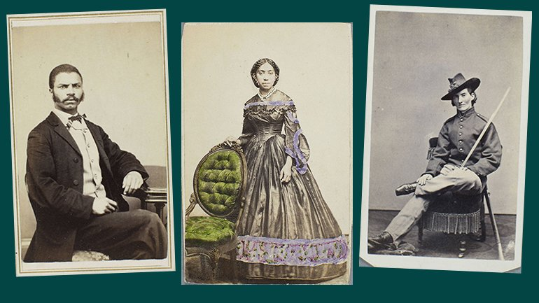 Nineteenth-century photos of black Bostonians from the Harriet Hayden Albums