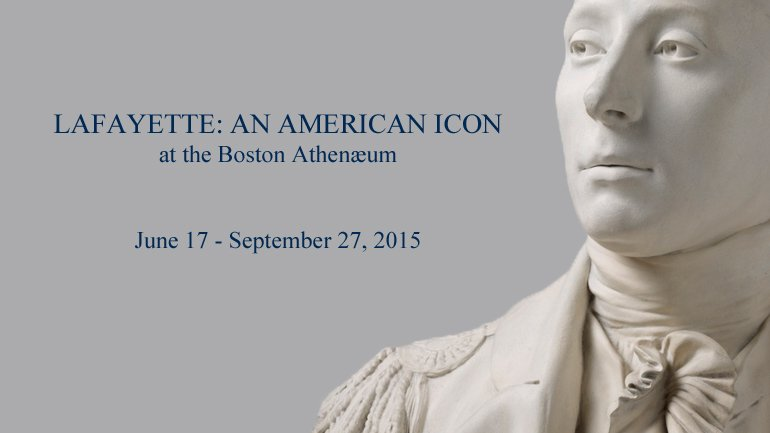 Jean-Antoine Houdon (French, 1741–1828), Marquis de Lafayette, ca. 1785, plaster bust, painted white, Athenæum purchase, 1828 (UH149). Image © President and Fellows of Harvard College
