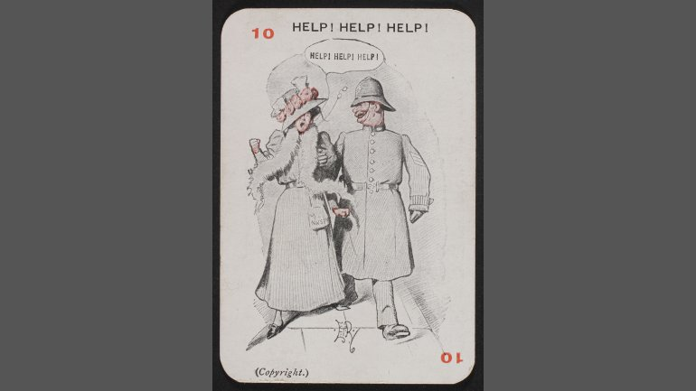 Anti-Suffragists (10) Help! Help! Help!