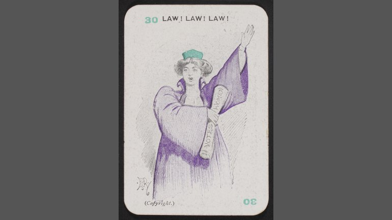 Suffragists (30) Law! Law! Law!