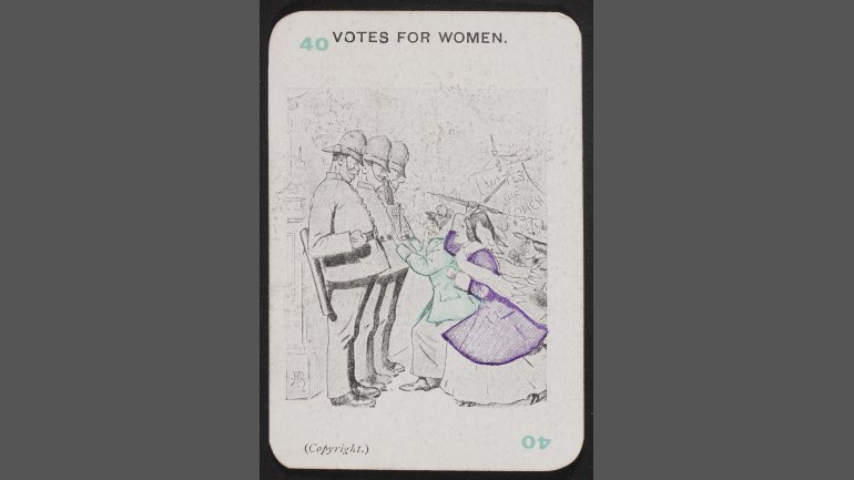 Suffragists (40) Votes for Women