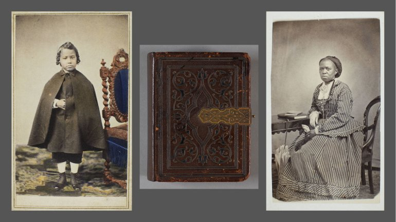 Harriet Hayden Albums, 2 vols., about 1860–1863