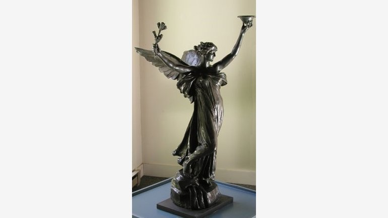 Daniel Chester French (1850-1931) The Spirit of Life, 1914 Bronze, 51 x 32 x 34 in. Chesterwood, National Trust for Historic Preservation, Stockbridge, MA