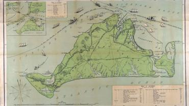 Eldridge's map of Martha's Vineyard