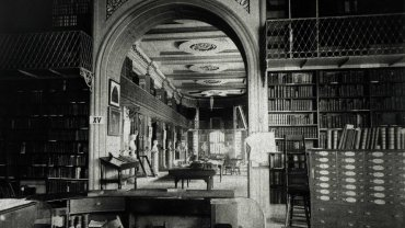 Boston Athenaeum Second Floor 1880