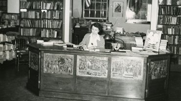 Blue Hill Maine Public Library, 1950s