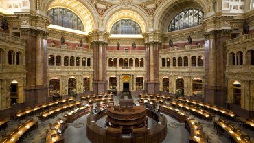 Library of Congress Main Reading Room, today