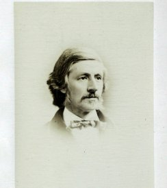 Franklin Benjamin Sanborn, 1882.  Albumen print.  Alcott, A. Bronson.  Sonnets and Canzonets.  Boston: Roberts Brothers.