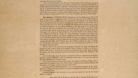 By the President of the United States: A Proclamation, Emancipation Proclamation