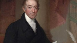 James Perkins, 1822,  Oil on canvas, 111.3 x 86.5 cm, by Gilbert Stuart.