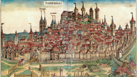 Cropped image of The Nuremberg Chronicle