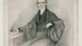 Francis William Pitt Greenwood, by William Sharp, 1840, Color lithograph.