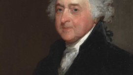 John Adams, ca. 1815, by Gilbert Stuart