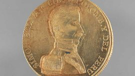Medal of Simon Bolivar, 1825.
