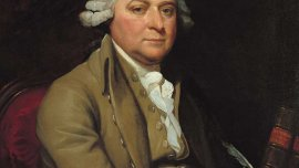 John Adams, 1788 by Mather Brown