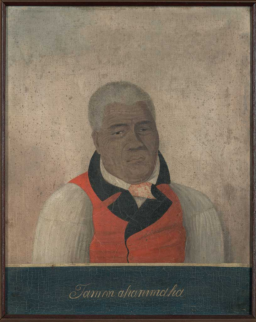 Kamehameha the Great, King of the Sandwich Islands, ca. 1816
