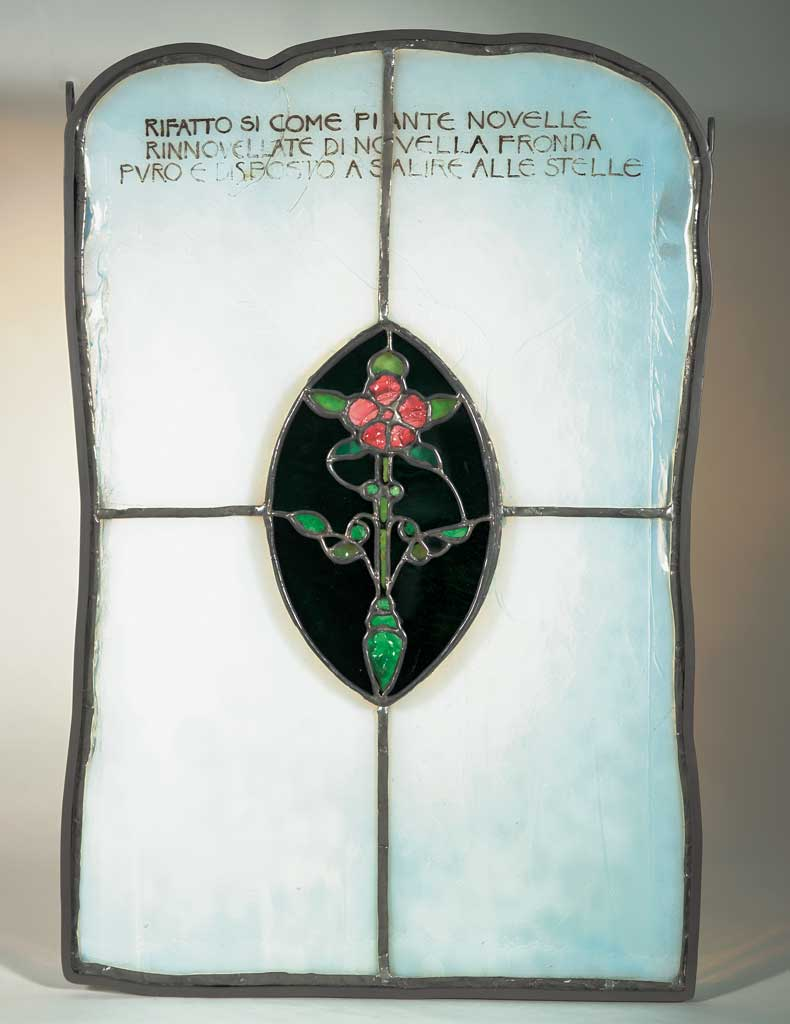 Stained Glass, by Sarah de St. Prix Wyman Whitman