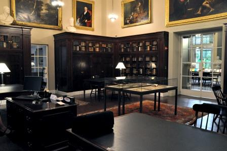 Arthur and Charlotte Vershbow Special Collections Reading Room