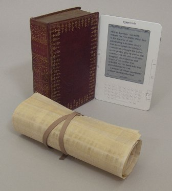 Roll, Codex and Kindle